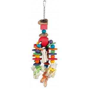 Игрушка для птиц Trixie Wooden Toy, размер 35см.
