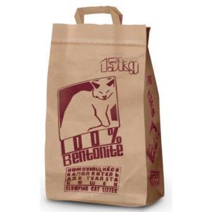 Наполнитель для кошачьего туалета Pi-Pi Bent Classic, 15 кг