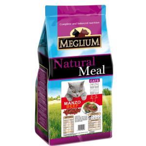 Корм для кошек MEGLIUM Cat Adult, 15 кг, говядина