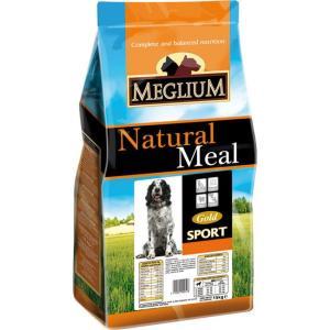 Корм для собак MEGLIUM Dog Sport Gold, 3 кг, говядина с курицей