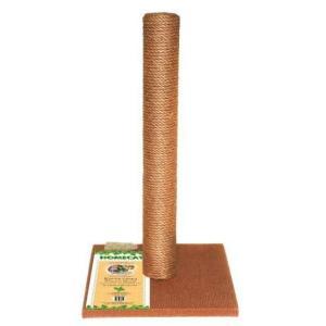 Когтеточка для кошек Homecat, размер 41х41х63см., коричневый