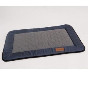 Лежак для собак Katsu Plaska S, размер 82х55см., серый