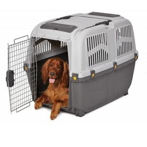 Переноска для собак MPS Skudo IATA, размер 6, размер 92х63х70см., коричнево-песчаный