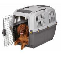 Фотография товара Переноска для собак MPS Skudo IATA, размер 6, размер 92х63х70см., коричнево-песчаный