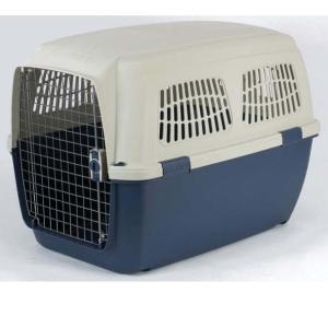 Переноска для собак Marchioro Clipper Cayman, размер 6, размер 93х65х68см., сине-бежевый