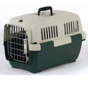 Переноска для собак и кошек Marchioro Clipper Cayman, размер 1, размер 50х30х32см., бежево-зеленый