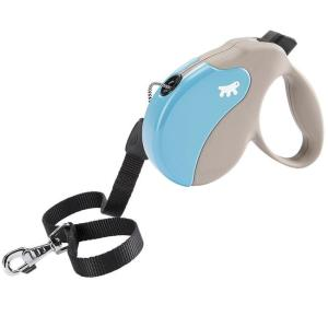Поводок-рулетка для собак Ferplast Amigo Small, бежево-голубой