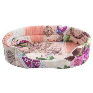 Лежанка для собак Гамма, размер 49х35х13см., цвета в ассортименте