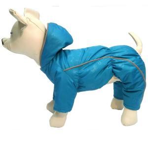 Комбинезон для собак Osso Fashion, размер 30, бирюзовый