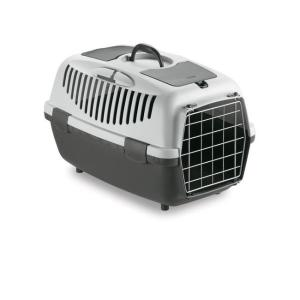 Переноска для собак и кошек Stefanplast Gulliver, размер 3, размер 61х40х38см., серый