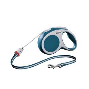 Поводок-рулетка для собак Flexi Vario Cord S, синий