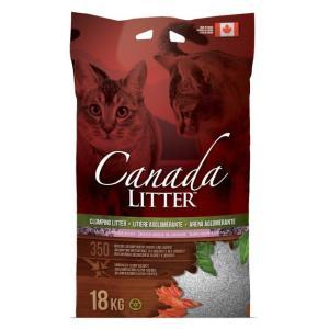 Наполнитель для кошачьего туалета Canada Litter Запах на замке (Лаванда), 18 кг
