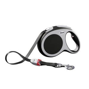 Поводок-рулетка для собак Flexi Vario Tape L, антрацит