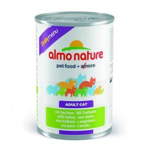 Консервы для кошек Almo Nature Dailymenu BIO, 400 г, индейка