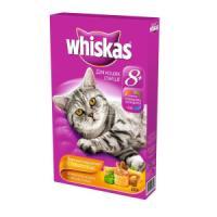Фотография товара Сухой корм для кошек Whiskas Вкусные подушечки, 350 г, птица