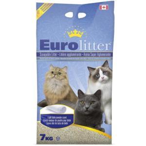 Наполнитель для кошачьего туалета Canada Litter Eurolitter Dust Free, 7 кг