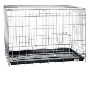 Клетка для собак Kredo CROME, размер 108х69х78см.