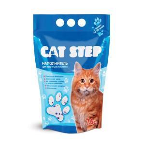 Наполнитель для кошачьего туалета Cat Step, 3.82 кг, 7.6 л