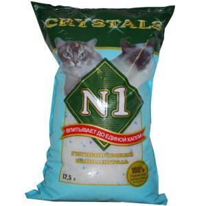 Наполнитель для кошачьего туалета N1, 5.5 кг, 12.5 л