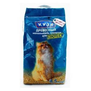 Наполнитель для кошачьего туалета Кузя, 2.5 кг