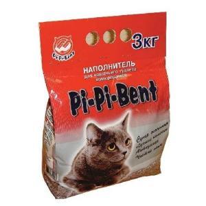 Наполнитель для кошачьего туалета Pi-Pi Bent Classic, 3 кг