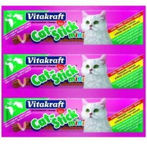 Лакомство для кошек Vitakraft, 18 г, утка и кролик
