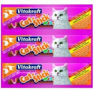Лакомство для кошек Vitakraft, 18 г, индейка и ягненок