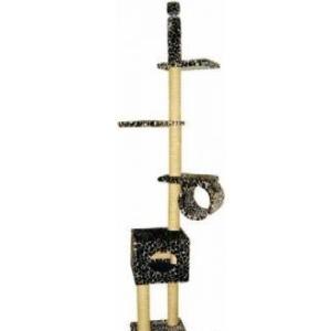 Домик-когтеточка для кошек Зооник, размер 48х48х250см.