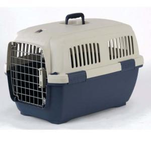 Переноска для собак и кошек Marchioro Clipper Cayman, размер 3, размер 64х43х43см., бежевый/синий