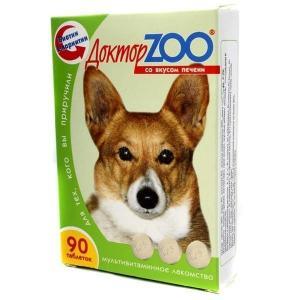 Витамины для собак Доктор Zoo, Печень