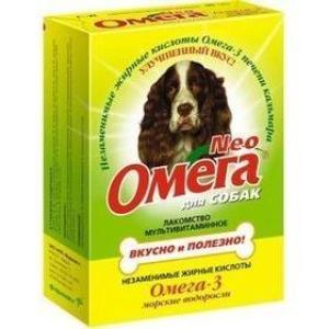 Витамины для собак Омега