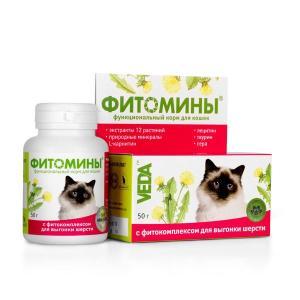 Витамины для кошек Фито