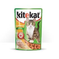 Фотография товара Корм для кошек Kitekat, 85 г, курица