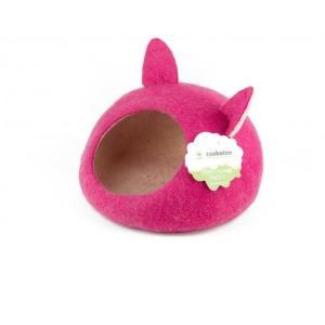 Домик для животных Zoobaloo Уютное гнездышко, размер 40х40х20см., малиновый