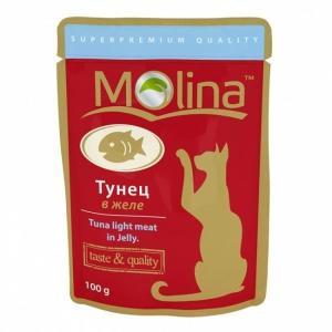 Корм для кошек Molina, 100 г, тунец