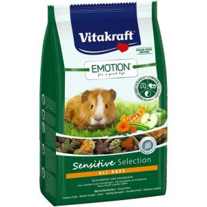 Корм для морских свинок Vitakraft Sensitive Selection, 600 г, овощи, семена, фрукты