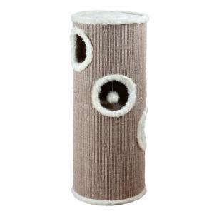 Домик-когтеточка для кошек Trixie Edorado, коричневый / бежевый