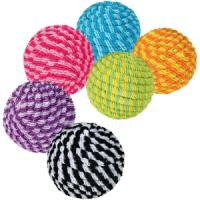 Фотография товара Игрушки для кошек Trixie Spiral Balls, 928 г, размер 4см., цвета в ассортименте