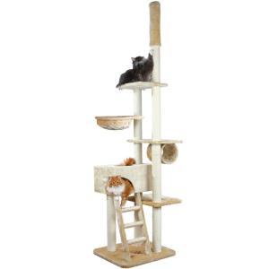 Домик-когтеточка для кошек Trixie Zaragoza, бежевый