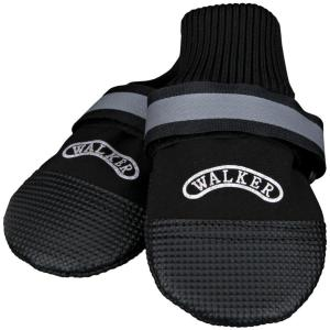 Тапки для собак Trixie Walker Professional, размер 3, чёрный