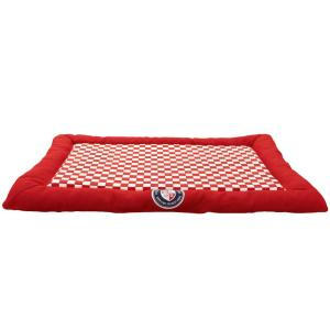 Лежак для собак Fauna International Mark Red S, размер 40х60см.