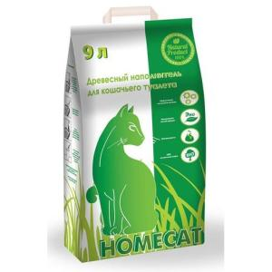 Наполнитель для туалета Homecat 9, 3 кг, 9 л