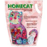 Фотография товара Наполнитель для кошачьих туалетов Homecat Роза, 1.8 кг