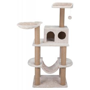 Домик-когтеточка для кошек Trixie Federico, размер 60х50х142см., светло-серый