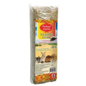 Сено для грызунов Родные корма, 700 г, 20 л