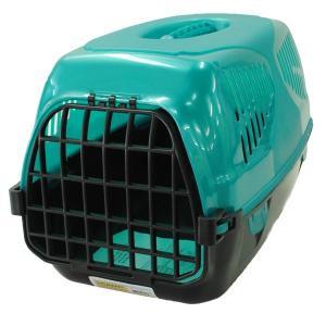 Переноска для собак и кошек Homepet Путешественник, размер 50х33х35см., бирюзовый