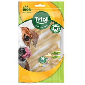 Лакомства для собак Triol, 40 г, сыромятная кожа, 4 шт.