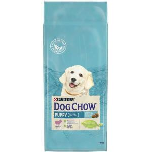 Корм для щенков Purina Dog Chow Puppy Junior, 14 кг, ягненок с рисом