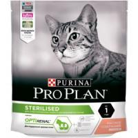 Фотография товара Корм для кошек Pro Plan Sterilised, 400 г, лосось