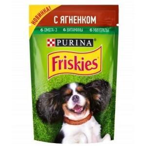 Корм для собак Friskies Adult, 85 г, ягненок